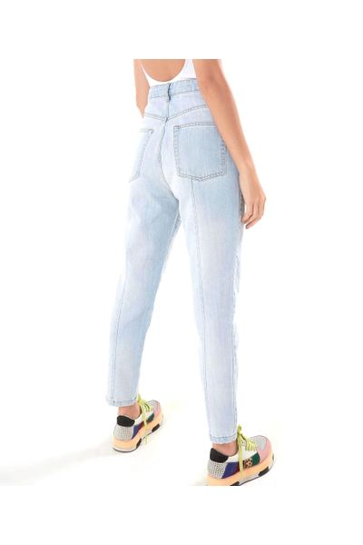 Calca Jeans Fit Tropical