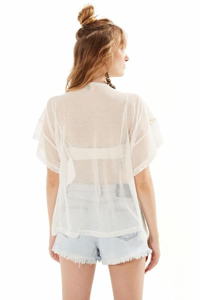 T-Shirt Tela - Off White - U
