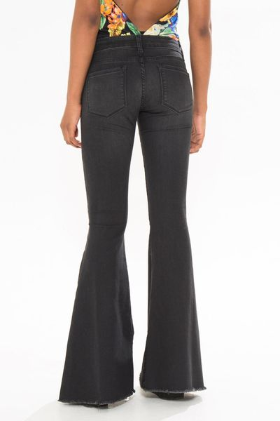 Calca Flare Black Jeans