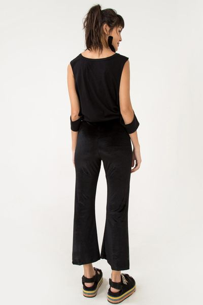 Calca Flare Cropped
