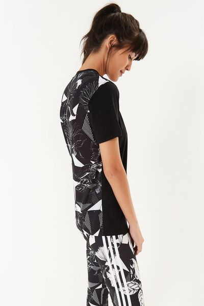 T-Shirt Tropical Black