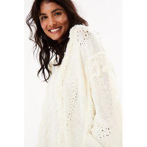 Sweater Franja Fita - Farm - Farm Rio BR