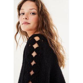 Sweater Detalhe Crochet - Farm - Farm Rio BR - Migrado 19/08/2020