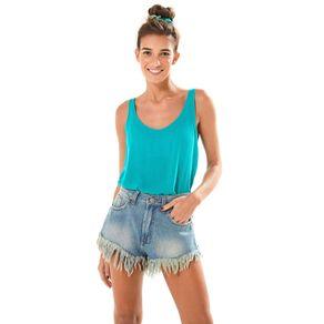 Short Jeans Desfiado - Farm - Farm Rio BR
