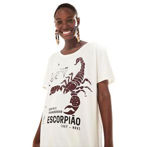 T-Shirt Silk Escorpiao - Farm - Farm Rio BR