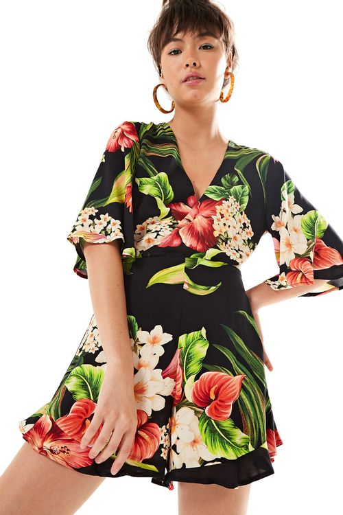 5279d5e12 Moda Feminina - Macacão Farm Curto PP – Farm