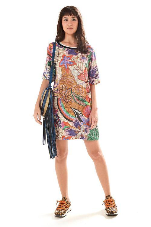 dd23767a7 Moda Feminina - Vestido Farm Estampado G – Farm