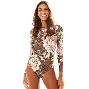 Body Floral Oncinha - Farm - Farm Rio BR - Migrado 19/08/2020