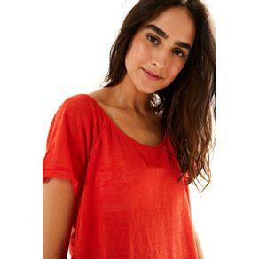 T-Shirt Raglan Linho - anunciação - Farm Rio BR