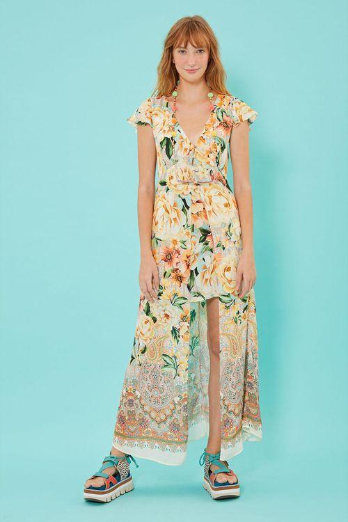 6ddaeea45 bazar  vestidos longos
