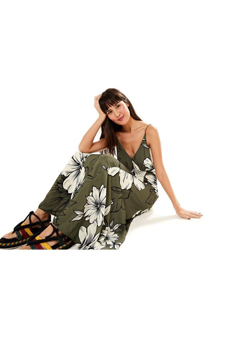 a704a0a5c Vestido Midi Floral Nath Maxi - Farm