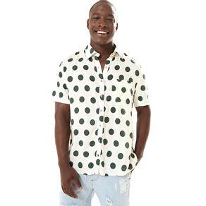Camisa Maxi Poa - anunciação - Farm Rio BR