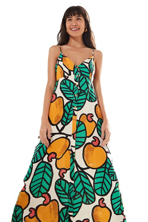 0c438df798 vestidos FARM: longo, midi e curto com estampa | FARM