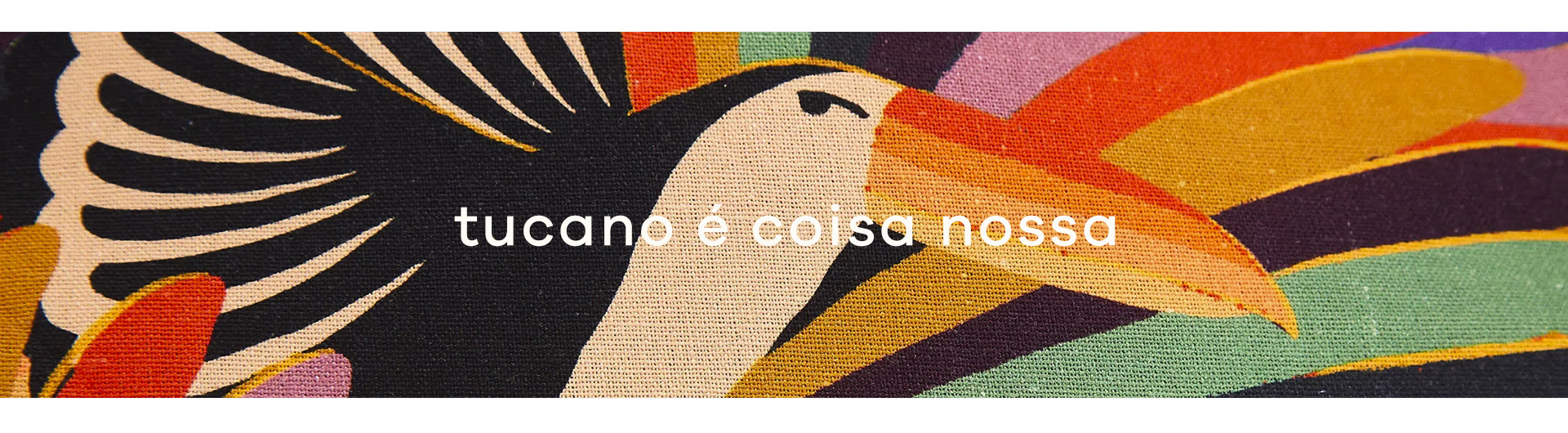 banner Estampa Tucano Rainbow