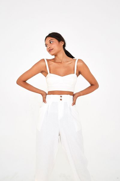 Calca Cropped Cenoura